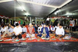 Suasana Istiqosah Dalam Rangka Peringati HUT RI Ke-74 Tahun Di Ponpes Sunan Kali Jogo,kec.Banjar Agung.