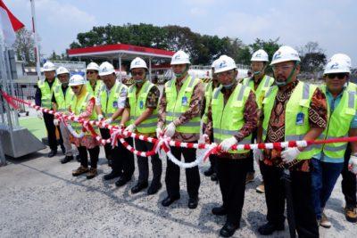 Prosesi Pemotongan Pita di area DPPU Radin Inten II Lampung