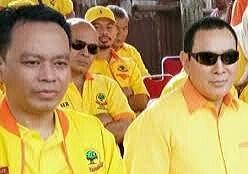 Badaruddin Andi Picunang bersama Tommy Suharto Ketua Umum Partai Berkarya