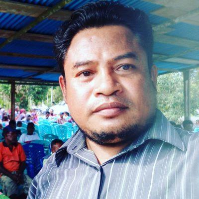 Fahmi Abdullah Kaur keuangan di kampung sidey jaya dan dusun warikon