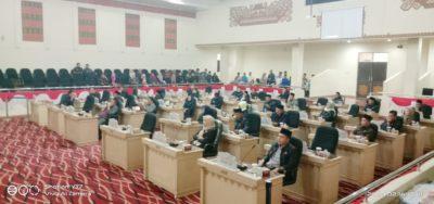 Rapat Paripurna DPRD Tulang Bawang Di Hadiri Oleh 36 Anggota DPRD Tulang Bawang.
