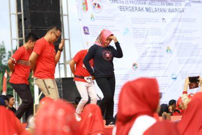 Dalam Kunker Di Panca Tunggal Jaya Penawar Aji Bupati Tuba Senam Bersama (amco)